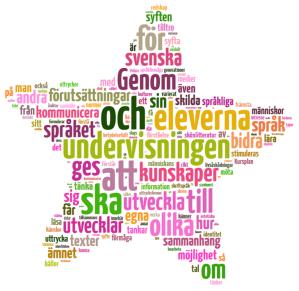 kursplanen i svenska